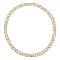 Cuban Link Diamond Necklace