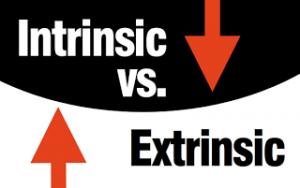 Understanding intrinsic vs extrinsic value